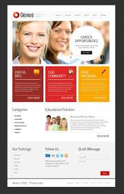 Career Page Design Templates Html Career Education Psd Template 38152 Design Bundle Psd