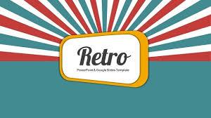 Retro Style Funky Free Powerpoint Templates Google