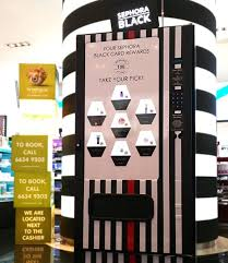 Vending Machine Sephora Enchanting SEPHORA BLACK CARD EXCLUSIVE Spend 48 To Exchange Token Instanly