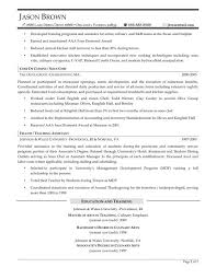 free sous chef sample resume sample resume for chef