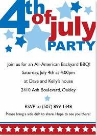4th Of July Invitation Google Search Invitations