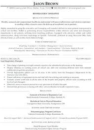 Counseling Resume Awesome Therapist Resume Examples Foodcityme