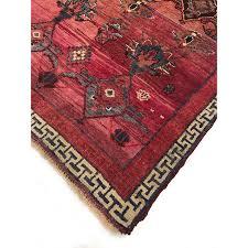 vintage red and pink turkish rug orange county
