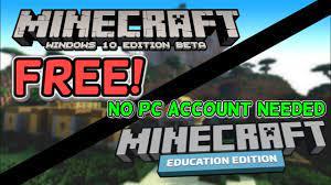 minecraft windows 10 education edition