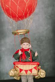 diy hot air balloon costume or good for photo prop