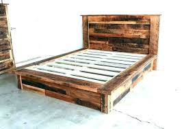 wood bed frame king – tronixs