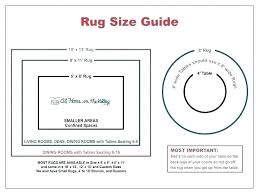 Typical Rug Sizes Efsun Info