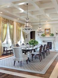 mid century modern dining room chandelier dining room traditional with crystal chandelier white molding hardwood floors