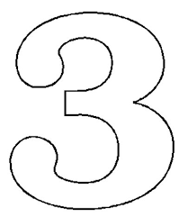 number 3 template free number 3 download free clip art free clip art on clipart library