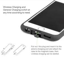 iphone qi charging case. magnetic qi charger car mount iphone charging case 6