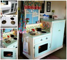 Play Kitchen From Old Furniture 20 Of The Best Upcycled Furniture Ideas Kid Plays And Kitchens