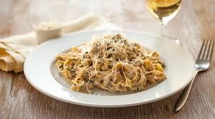 макароны в сливочном соусе