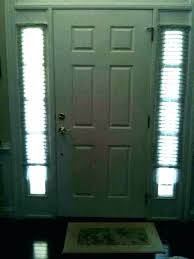 front door sidelight window blinds side curtain curtains treatments llular shades target medium size of coverings