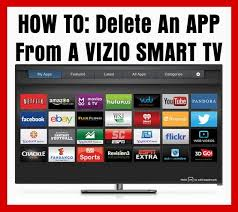 how to delete apps from a vizio smart tv com how to delete an app from a vizio smart tv