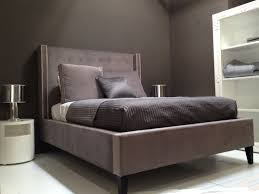 modern upholstered bed. Tufted And Upholstered Contemporary Bed-Homer Modern Bed