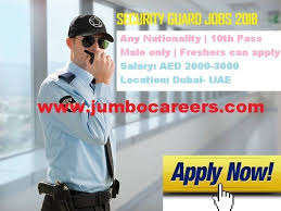 security salary latest security guard jobs in dubai 2018 security guard job salary
