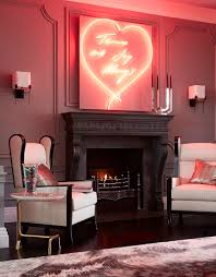 Lighting For Living Rooms Daring Home Decor Neon Lights For Every Room