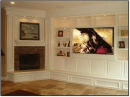 basement home theater with fireplace. corner+fireplaces+with+entertainment+center | corner fireplace entertainment center art white basement home theater with