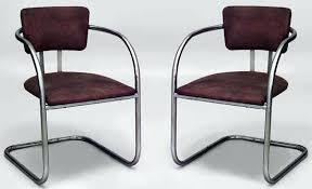 art moderne furniture. Art Moderne Furniture Chromed Metal Chairs . I