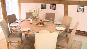 Restaurant Kitchen Tables Round Extending Table Youtube