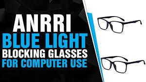 Anrri Blue Light Blocking Anrri Blue Light Blocking Glasses For Computer Use Anti Eyestrain Uv Filter Lens Lightwei