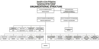 Organizational Chart Municipality Of Lupon