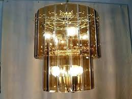 beveled glass chandelier regency two tier brass and beveled smoke amber glass chandelier parts brass and