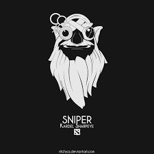 logo kardel sharpeye sniper dota 2 by ritchyzz on deviantart