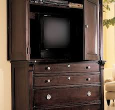 another option is this beautiful chest from the gramercy park collection i feel sure that if i had this chest in my bedroom and put the tv in it