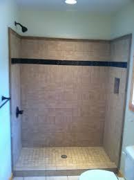installing bathroom tile shower replacing around bathtub