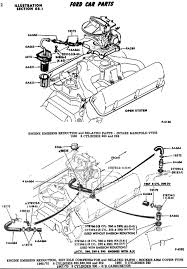 ford mustang 289 engine diagram 1966 ford 6v carburetion technical information 65 69 ford windsor engine emission reduction