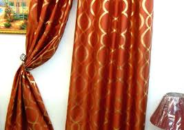 rust colored curtains solid orange curtains window curtains and sheers window curtains and sheers in rust colored curtains