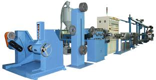 industrial extrusion line