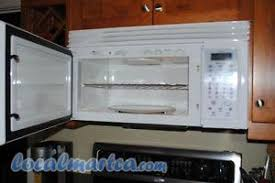 kenmore over the range microwave. white kenmore over the range microwave - model 85410 (1000 watt)