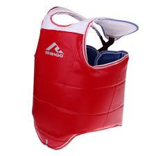 Adidas Chest Protector Sizing Chart Taekwondo Chest Guard Martial Arts Body Protector Kickboxing Reversible