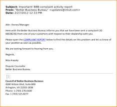 Business Email Format Letter Sample Standard Pdf To Customer