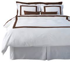 lacozi brown and white duvet cover set modern covers