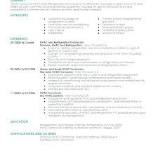 Hvac Resume Samples Simple Hvac Installer Job Description For Resume Elegant Hvac Resume