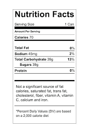 Nutrition Labels Template Food Nutrition Label Template Us Nutrition Facts Label Food