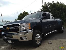 2013 Blue Granite Metallic Chevrolet Silverado 3500HD LTZ Crew Cab ...