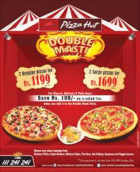 pizza hut menu 2013. Delighful Pizza Pizza Hut Pakistan Double Masti Deal 2013 With Menu O