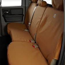 carhartt 2nd row brown seat covers