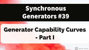 39 Synchronous Generators Generator Capability Curves Part I