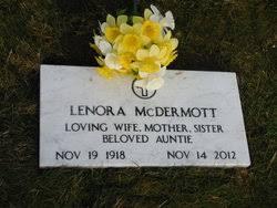 Lenora Woods McDermott (1918-2012) - Find A Grave Memorial