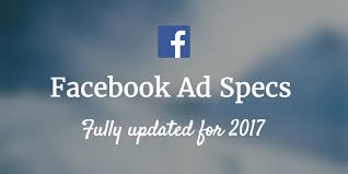 facebook ad specs and image sizes