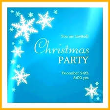 Free Holiday Party Templates Free Christmas Party Invitation Templates Email Solacademy Co