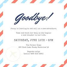 invitation card for farewell party to seniors templates as your ideas
