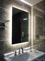 Bathroom mirrors Vintage Diyhd Box Diffusers Led Backlit Bathroom Mirror Vanity Square Wall Mount Bathroom Finger Touch Light Mirror Bathroom Mirrors For Sale Discount Bathroom Mirrorlot Diyhd Box Diffusers Led Backlit Bathroom Mirror Vanity Square Wall