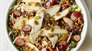 panera asian chicken salad. Unique Chicken Ancient Grain U0026 Arugula Salad With Chicken To Panera Asian N