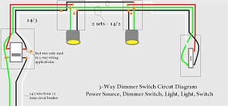 three way switch wiring diagram with dimmer diagram wiring diagrams for diy car repairs